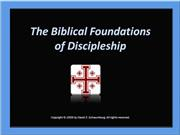 Bilbical Foundadtions of Discipleship