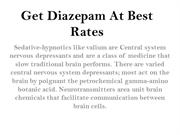 Buy Diazepam and Buy Valium Online