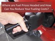 surge in fuel Prices; How Can You Reduce Your Fueling Costs?