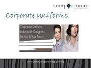 corporate uniforms shirts