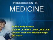 L1 introduction to medicine - approach to dyspnea