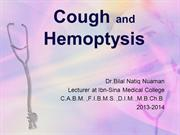 L2 cough and hemoptysis