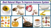Best Natural Ways To Improve Immune System