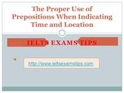 prepositions - ielts writing and speaking exam tips