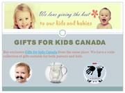 Gifts For Kids Canada