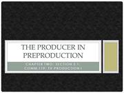 PP#4 - Chapter Two The Producer in Preproduction (COMM #119)