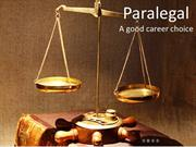 Paralegal A good career choice