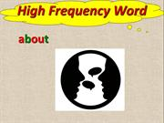 L17_High Frequency Words