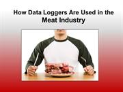 How Data Loggers Are Used in the Meat Industry