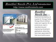 Rostfrei Steels Pvt Prefabricated,Bolted Tanks
