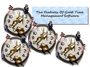 The Features Of Good Time Management Software