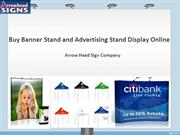 Buy Banner Stand and Advertising Stand Display Online