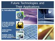 Future Technologies: Introduction