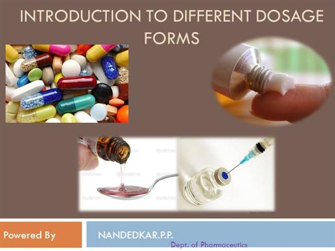Pharmaceutical dosage forms |authorstream.