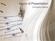 Contract PowerPoint Template Backgrounds
