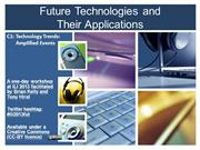 Future Technologies: Amplified Events [C1]