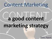 Content Marketing, An Emerging Avenue of Marketing your products