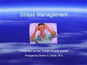 Negative Effects of Stress shared by Dr Jennifer Martinick
