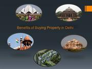 Benefits of Buying Property in Delhi