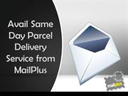 MailPlus Provides Same Day Parcel Delivery Service in Australia