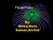 Fiscal Policy ppt(2) new
