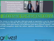 Venture Capital Company - grovest.co.za