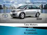 Tata Motors jobs