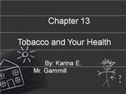 Tobacco  And  Your  Health  Vocab  Karina