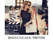 TOP 2013 LUGGAGE TRENDS