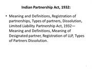 Pdf partnership act