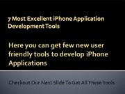 Best iPhone Application Development Tools