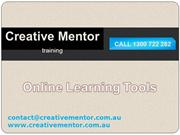 Creative Mentor - Exclusive Online Learning Tools