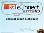 OMD_Contract_Import_Techniques_Shannon_Edler