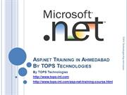 The Asp dot net Training Workshop in Ahmedabad