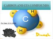 carbon and its compound by ankush