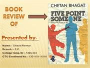 Book Review Of 5 Point Someone(Final)