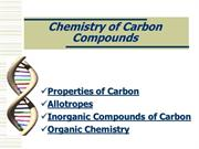 chemistry of carbon compounds-I