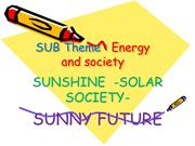 PPT ON SOLAR ENERGY BY G.MOTHY K.V.NO.1 UPPAL HYD