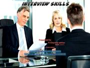 INTERVIEW SKILLS chandu