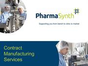 PharmaSynth Biopharmaceutical Manufacturing Services