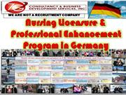 Professional Enhancement Program in Germany