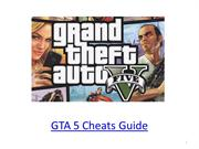 GTA 5 Cheats Guide