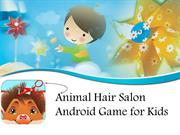 Animal Hair Salon Android Game for Kids