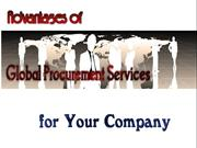 Advantages of Global Procurement Services for Your Company