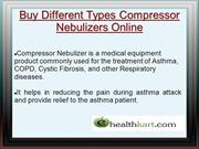 Buy Different Types Compressor Nebulizers Online - ehealthkart