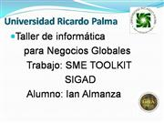 SME TOOLKIT- SIGAD
