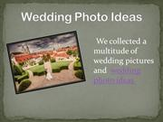 wedding photo ideas bride and groom