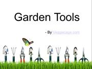 Garden Tools Are Essential For Perfect Gardening