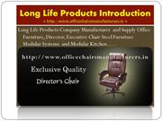 Office Furniture , Chairs Manufacturer Supplier - Long Life Products