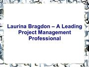 Laurina Bragdon – A Leading Project Management Professional